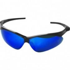 Очки защитные зеркальные Sigma Meteor, blue mirror