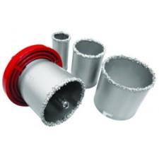Набор корончатых сверл для плитки 5 ед., 33-73 мм, вольфрамовое напыление