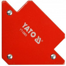 Струбцина магнітна для зварки YATO : 11,5 кг. 82х120х13
