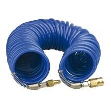 Спиральный шланг 5х8 синий