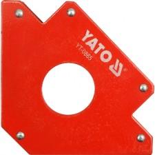 Струбцина магнітна для зварки YATO : 34 кг, 122х190х25 мм, Ø=46 мм