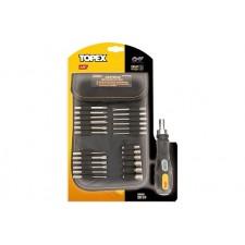 Насадки и сменные головки с держателем, набор 26шт. TOPEX