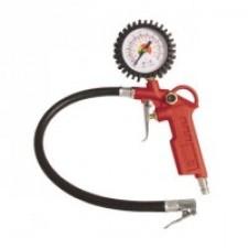 Пистолет для подкачки колес с манометром 63мм пневматический (блистер)