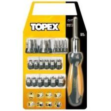 Насадки и сменные головки с держателем, набор 29шт. TOPEX
